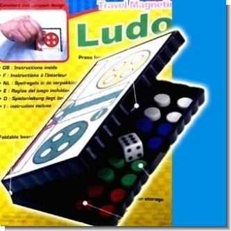 JUEGO LUDO MAGNETICO (13X13CMS) PLEGABLE